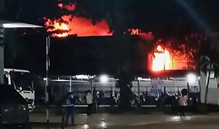 TP.HCM: Cháy nhà trong khu phong tỏa, một người phụ nữ tử vong