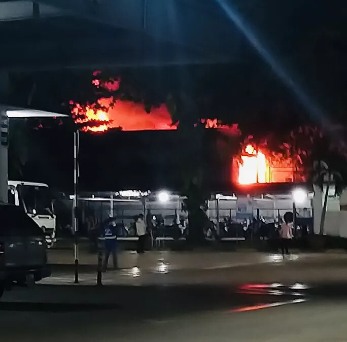 Cháy nhà trong khu phong tỏa, một người phụ nữ tử vong