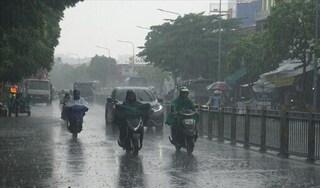 Thời tiết cuối tuần: Mưa lớn xuất hiện ở nhiều nơi