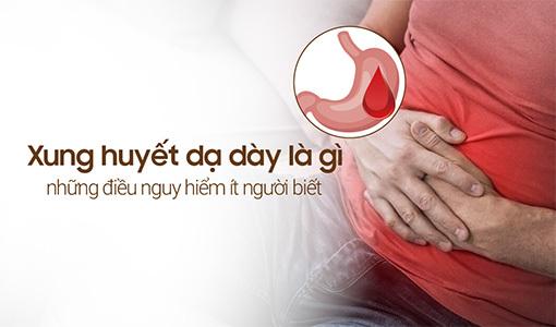 xung huyết dạ dày là gì