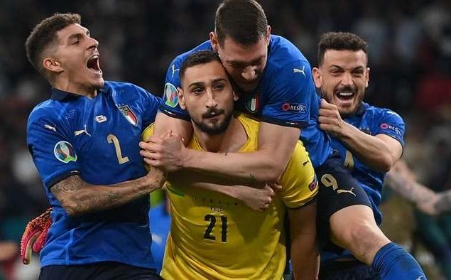 Tuyển Italia đã làm được điều phi thường ở trận chung kết Euro