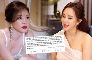 Vy Oanh sẽ kiện Hoa hậu Thu Hoài