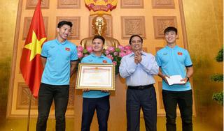 Đội tuyển Việt Nam nhận bằng khen của Thủ tướng Chính phủ