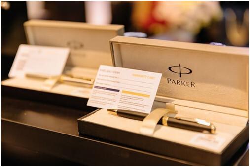 Bút máy Parker, tô điểm tầm vóc doanh nhân hiện đại