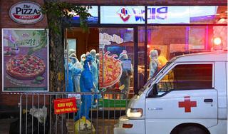Hà Nội thêm 4 ca Covid-19 mới, có 1 bệnh nhân là shipper quán Pizza