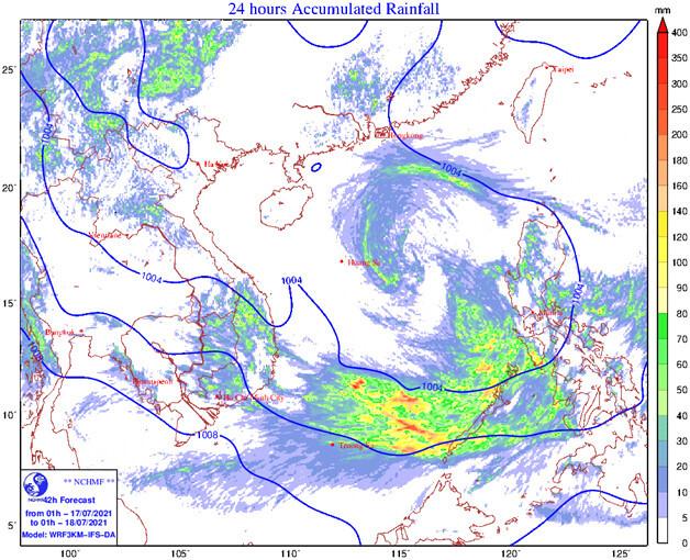 Thông tin về đợt mưa dông lớn sắp diễn ra ở miền Bắc