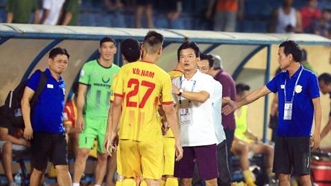Lãnh đạo CLB Nam Định không đồng ý lùi lịch thi đấu V.League