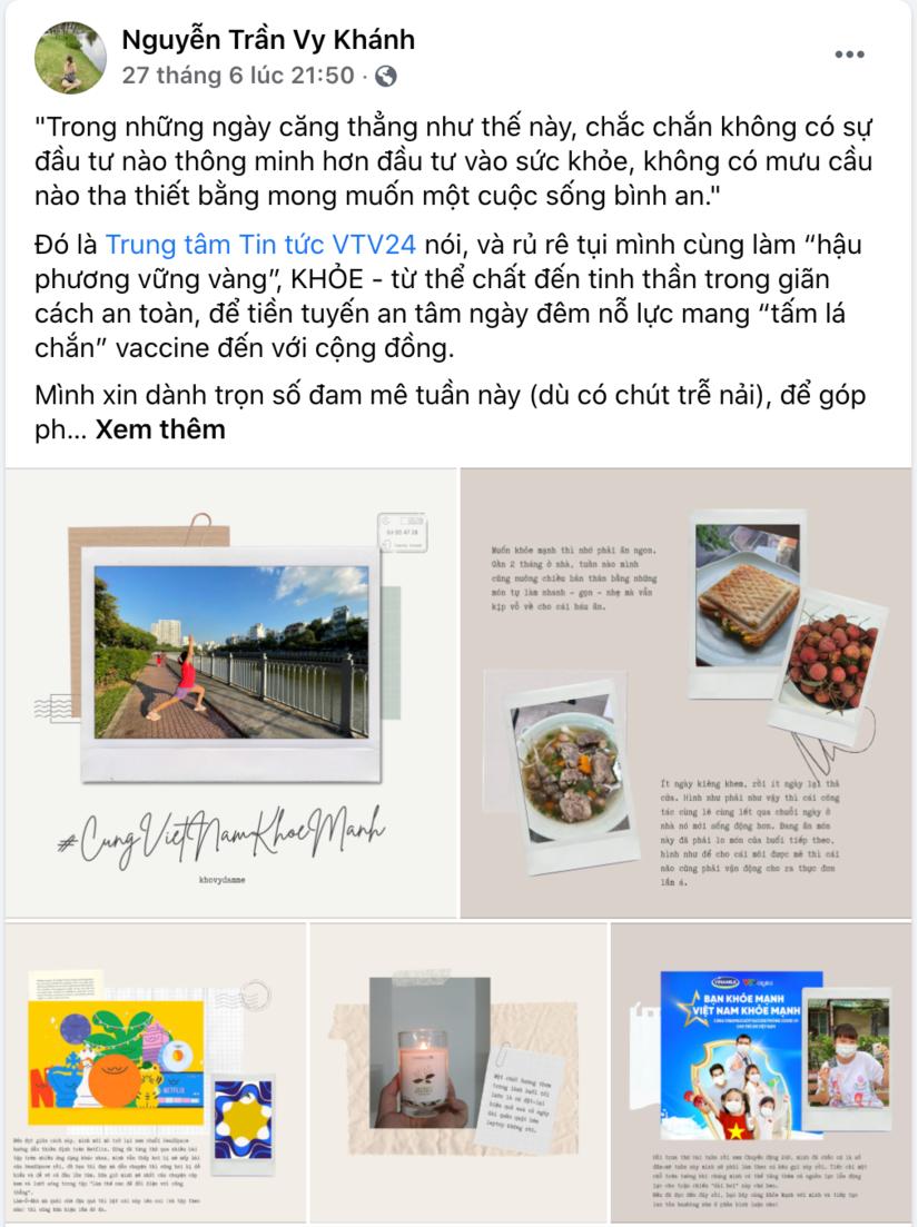 Mạng xã hội sôi động hơn bao giờ hết với tinh thần Bạn khỏe mạnh, Việt Nam khỏe mạnh