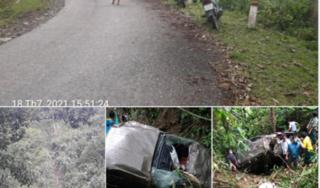 Lai Châu: Ô tô bán tải lao xuống vực sâu khiến 2 người tử vong