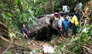 Danh tính 2 nạn nhân vụ xe bán tải lao xuống vực ở Lai Châu