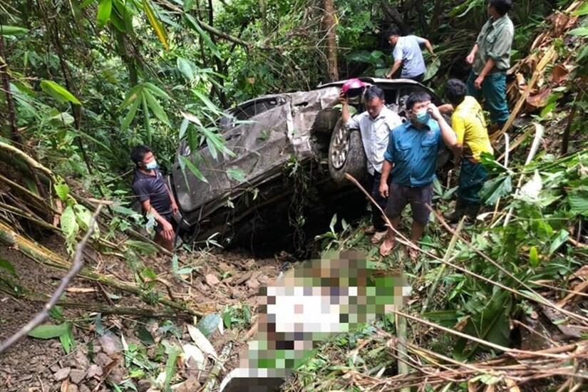 Vụ xe bán tải lao xuống vực ở Lai Châu, danh tính giám đốc và phó giám đốc tử vong