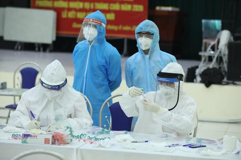 Hà Nam ghi nhận 2 trường hợp dương tính với SARS-CoV-2