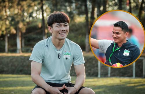 Minh Vương dành những lời có cánh cho HLV Kiatisak