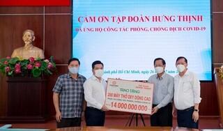 Tập đoàn Hưng Thịnh tiếp tục trao tặng 200 máy thở cho TP.HCM