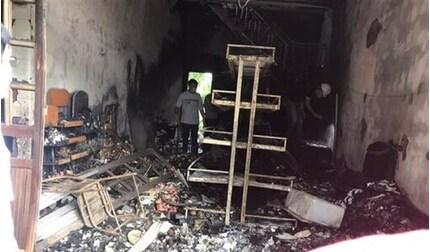 Công an Hải Phòng thông tin vụ cháy cửa hàng tạp hóa khiến 2 vợ chồng tử vong