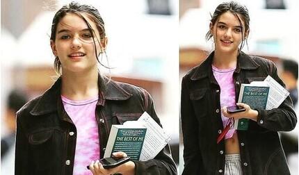 Con gái Tom Cruise xinh đẹp ở tuổi 15