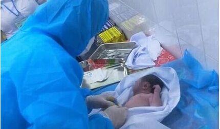 Phát hiện bé sơ sinh bị bỏ rơi trong khu vực cách ly, tình trạng nguy kịch