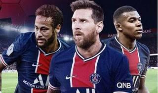 Messi hào hứng khi được thi đấu cùng Neymar và Mbappe