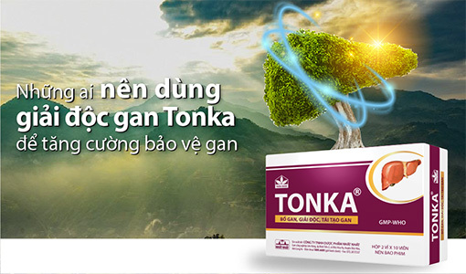 Giải độc gan Tonka