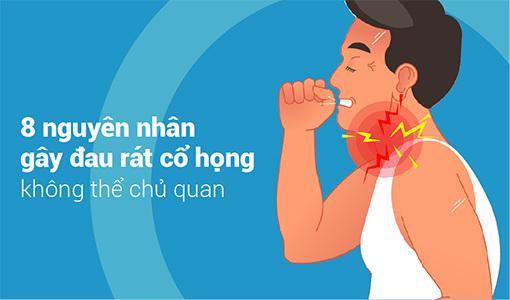 nguyên nhân gây đau rát cổ họng