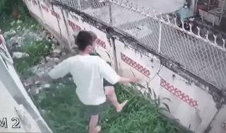 Thèm thuốc lá, nam thanh niên trèo tường trốn khỏi khu cách ly