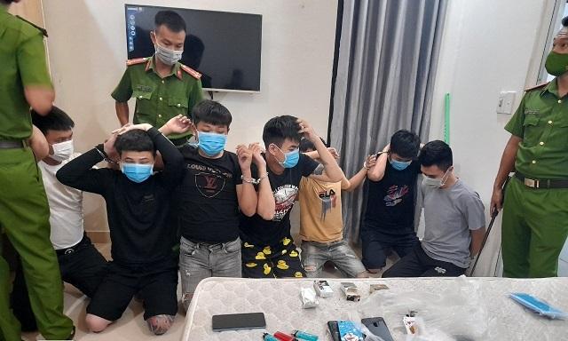 9 thanh niên ở Quảng Nam tụ tập dùng ma túy trong thời gian giãn cách theo chỉ thị 16