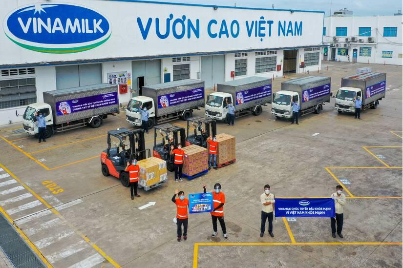 Chiến dịch cộng đồng của Vinamilk đạt những kết quả tích cực trong chuỗi hoạt động đầu tiên triển khai