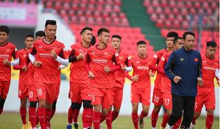 U22 Việt Nam tập huấn nước ngoài chuẩn bị cho giải châu Á