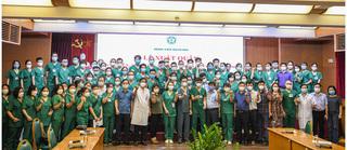 1.500 giáo viên, sinh viên Cao đẳng Y tế Bạch Mai hỗ trợ TP HCM chống dịch