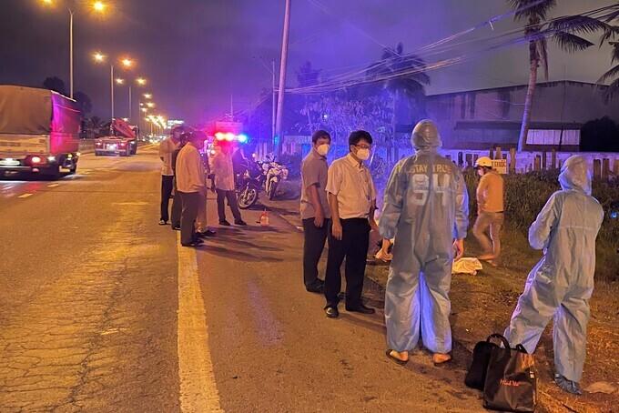 Truy tìm 2 thanh niên trộm xe máy của người tử vong do tai nạn giao thông trên đường