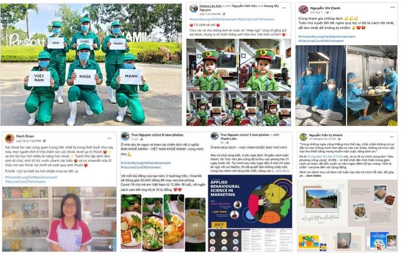 Vinamilk đồng hành để lan tỏa những 'vùng xanh hy vọng', vì một Việt Nam khỏe mạnh