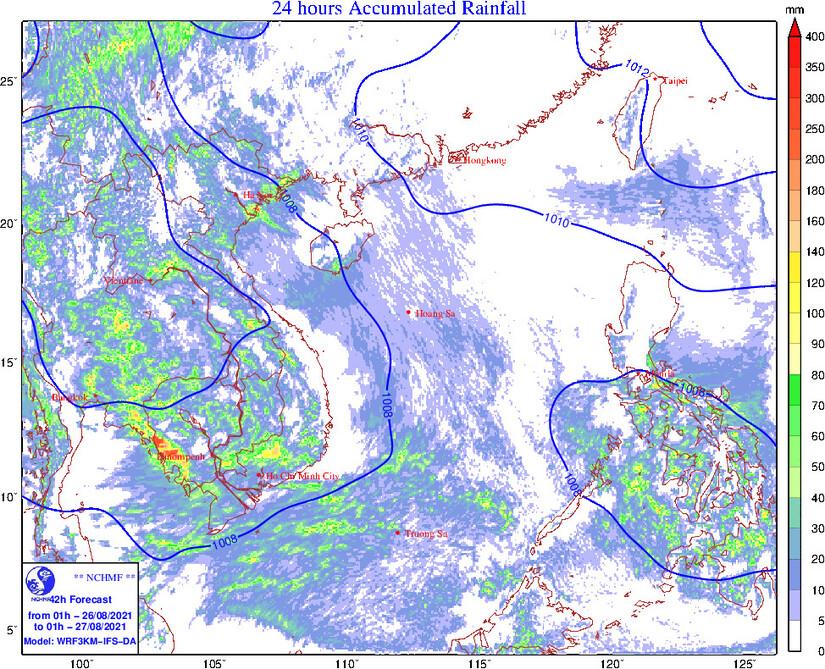 Thông tin mới nhất về đợt mưa dông, cảnh báo lốc, sét, mưa đá, gió giật mạnh ở miền Bắc