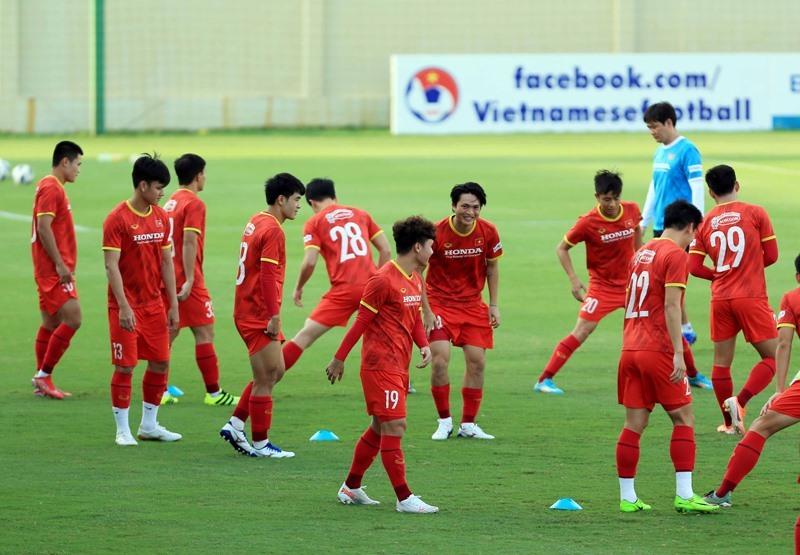 Danh sách 25 cầu thủ đội tuyển Việt Nam sang Saudi Arabia