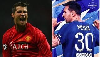 So sánh mức lương của Ronaldo và Messi ở đội bóng mới