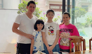 Con gái 12 tuổi của Bình Minh - Anh Thơ: Cao hơn mẹ, gương mặt xinh xắn như hotgirl