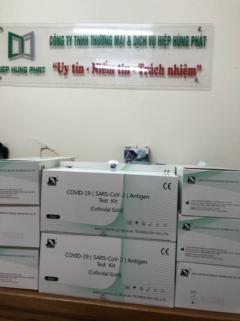 Dịch bệnh diễn biến phức tạp, Bộ Y tế cho phép thêm một Công ty nhập khẩu test nhanh Covid-19