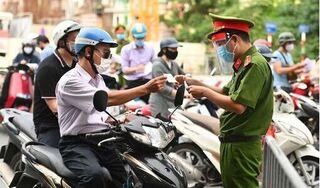Từ ngày 4/9, Hà Nội tăng cường 39 chốt kiểm soát tại 'vùng đỏ'