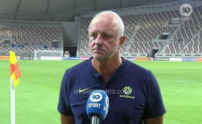 HLV tuyển Úc phát biểu đầy tự tin trước trận gặp Việt Nam