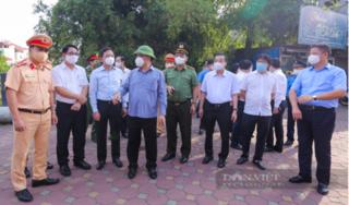 Giám đốc Công an Hà Nội: Dự kiến lượng người đến các điểm cấp giấy đi đường sẽ đông