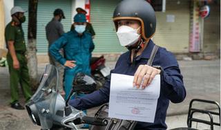 Công an TP Hà Nội chính thức chốt phương án cấp giấy đi đường