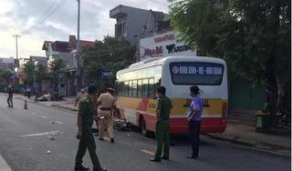 Ngày đầu đến trường, một học sinh tử vong do va chạm với xe buýt