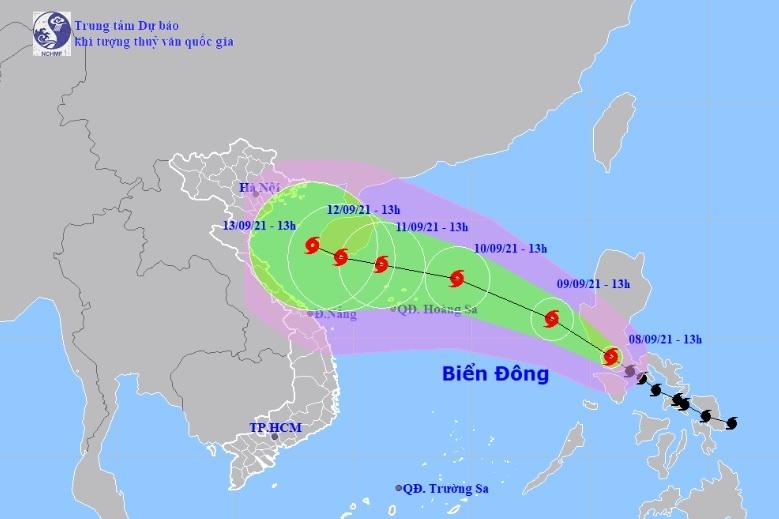 Bão Côn Sơn diễn biến phức tạp trong bối cảnh dịch COVID-19, dự kiến sơ tán 150.000 dân