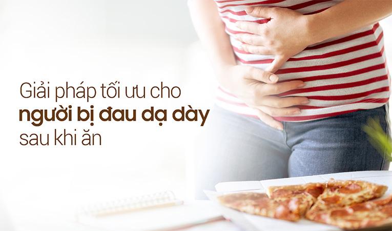 Đau dạ dày sau khi ăn
