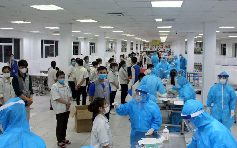 Phát hiện 6 ca mắc Covid-19, 4 ca nghi nhiễm liên quan Công ty giày Rieker tại Quảng Nam