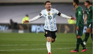 Messi vượt qua thành tích của 'Vua bóng đá' Pele