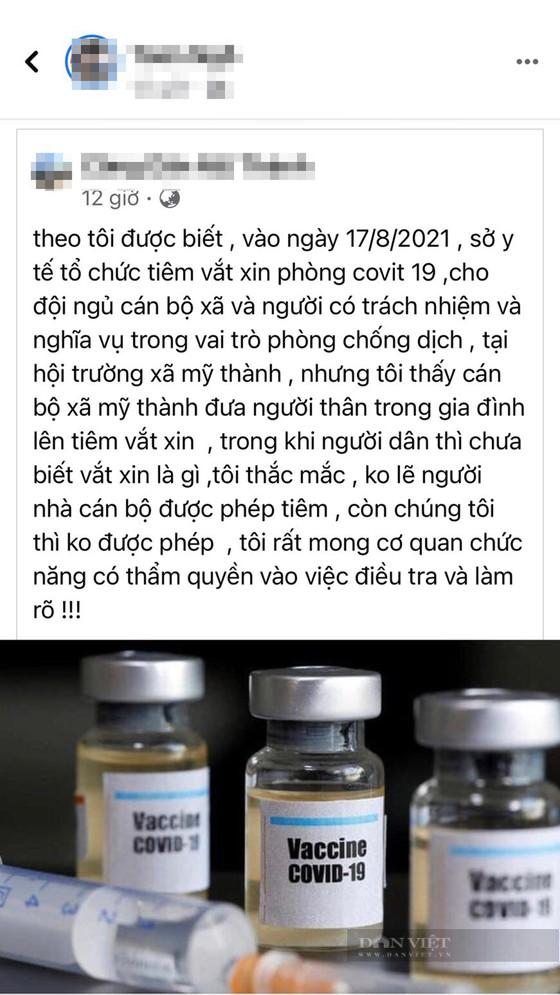 Kỷ luật Chủ tịch xã mời 20 người thân cán bộ tiêm vaccine sai quy định