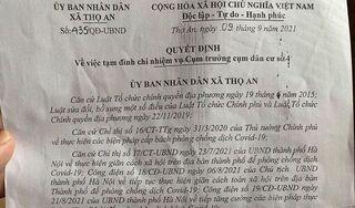 Vụ đưa tang đông người ở Hà Nội: Xã đình chỉ cán bộ phản ánh nhưng không báo cáo