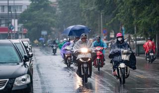 Thời tiết hôm nay 14/9: Bắc Bộ tiếp tục có mưa rào, rải rác có dông