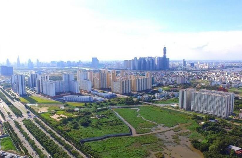 Vùng ven chiếm ưu thế trên thị trường bds 2021
