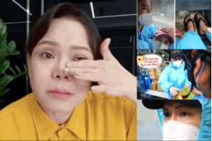 Loạt sự cố Việt Hương gặp phải khi làm từ thiện: Chồng bị thương, trộm đột nhập...